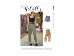 Short, pantalon et ceinture femme (6-8-10-12-14-18-20-22) - Mc Call's M8168