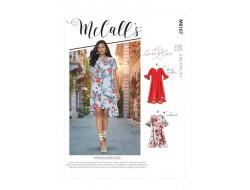 Robe  femme (XS-S-M-L-XL) - Mc Call's M8167