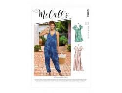 Robe et combinaison  femme - Mc Call's M8165