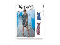 Robe et ceinture  femme - Mc Call's M8164