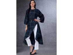 Patron Tunique et pantalon femme - Vogue 17439