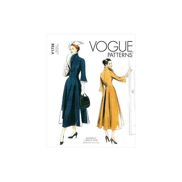 Patron Robe femme - Vogue 17438