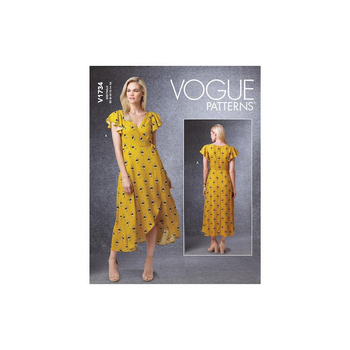 Patron Robe femme - Vogue 1734