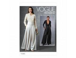 Patron Pantalon femme - Vogue 1661