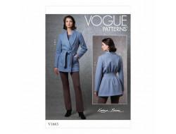 Patron Veste, Haut et Pantalon  femme - Vogue 1663