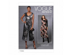 Patron Combinaison femme - Vogue 1664