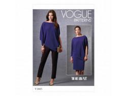 Patron Vêtement sport femme - Vogue 1665