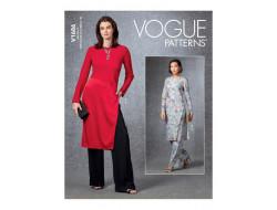 Patron Tunique et Pantalon femme - Vogue 1686