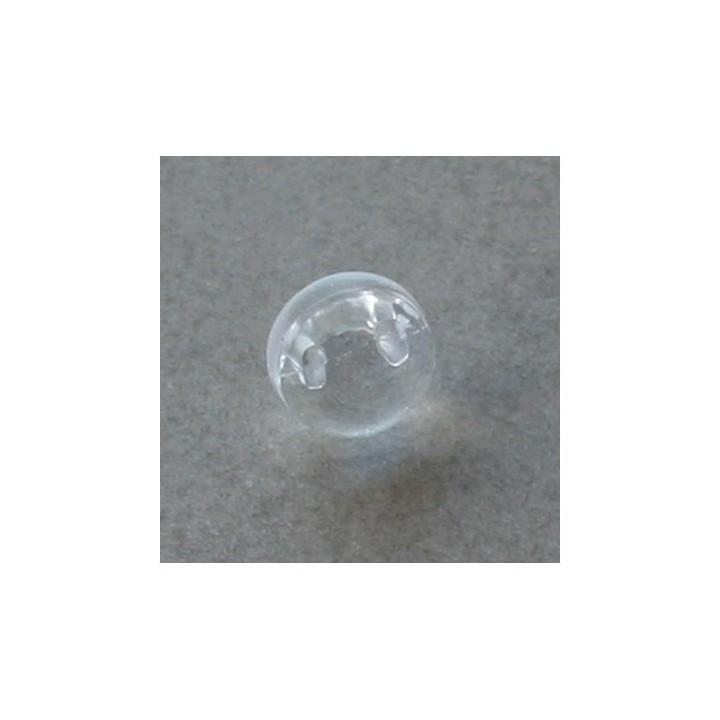 Bouton transparent