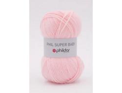 Fil Super baby Phildar 70 % Acrylique 30 % laine d'agneau