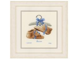 Kit point de croix Mes premières chaussures - Vervaco