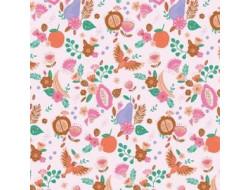 Tissu popeline Tulum fruits Katia Fabrics