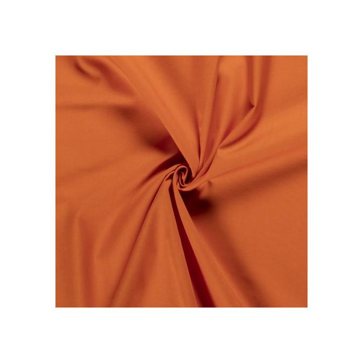 Tissu coton orange