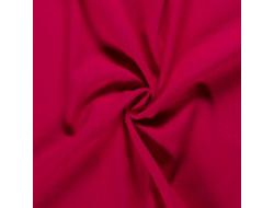 Tissu lin rose fuchsia