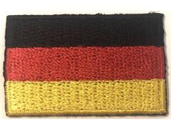 Écusson thermocollant drapeau Espagne - 4*2.5 cm