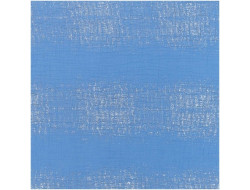Tissu coton mousseline froissée bleue - Rico Design