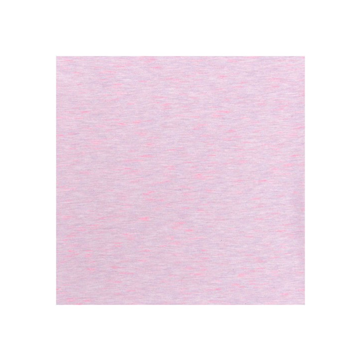 Tissu jersey rosé, rose fluo, Rico Design