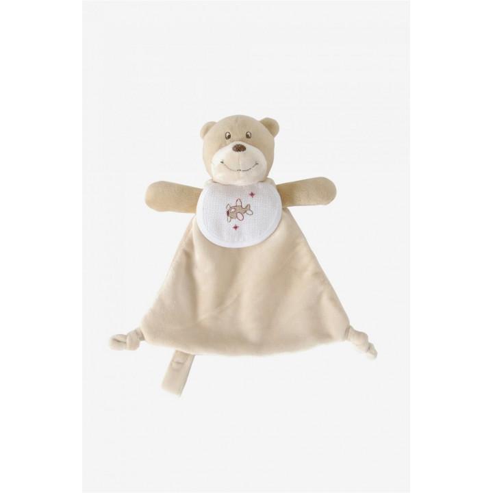 Doudou Teddy ours à broder  - DMC