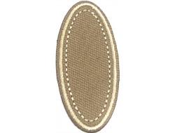 Écusson thermocollant ovale