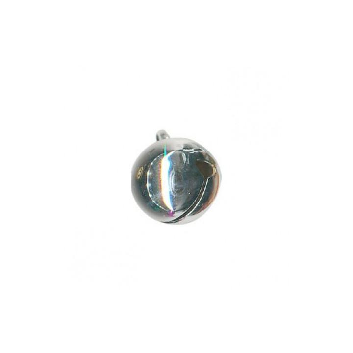 Grelot métal 8 mm - Argent