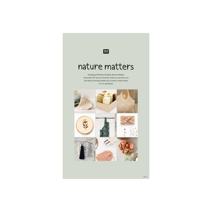 Livre Nature Matters Rico Design