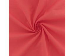 Tissu voile de coton corail