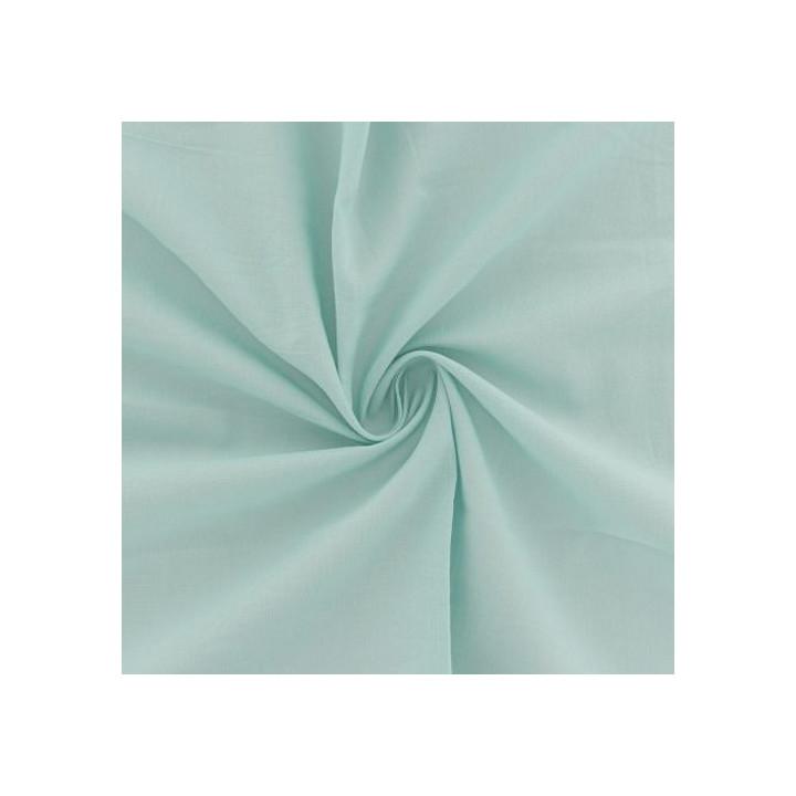 Tissu voile de coton Menthe
