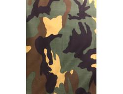Tissu motif camouflage