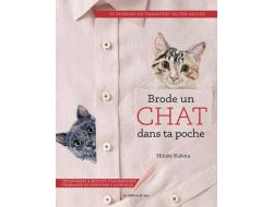 Livre Brode un chat dans ta poche