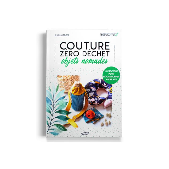 Livre Couture zéro déchet, objets nomades