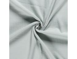 Tissu double gaze vert d'eau