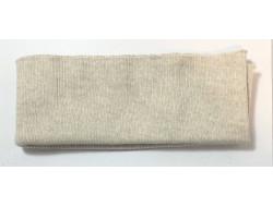 Bas de blouson acrylique/laine écru
