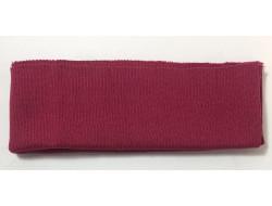 Bas de blouson acrylique/laine fushia