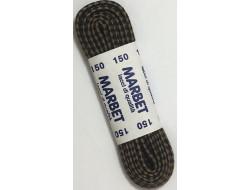 Lacets de chaussures ronds 150 cm bicolore marron/noir