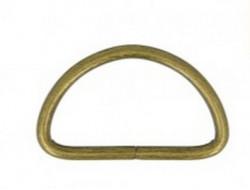 Demi anneaux bronze 30 mm