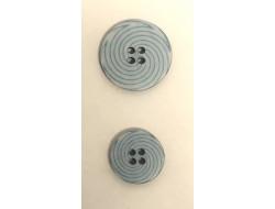 Bouton spirale bleu