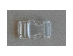 Boucle sacoche, transparente 10 mm