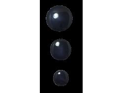 bouton pastille noir