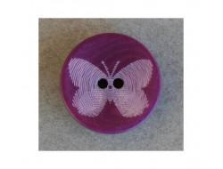 Bouton papillon violet