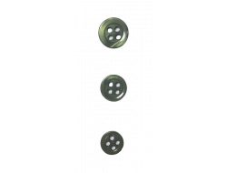 Bouton classique kaki 9, 10 et 12 mm