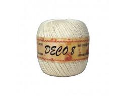 Coton Déco 8 - 100 gr - Écru