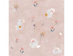 Tissu popeline - Little rat and friends Katia