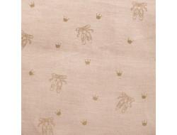 Tissu coton organique - Ballerinas Pink, Katia Fabrics