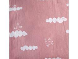 Tissu coton rustique - Peace Maker Pink, Katia Fabrics