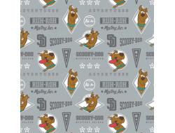 Tissu Camelot Fabrics - Scooby-doo