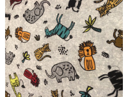 Tissu Michael Miller Fabrics - Safari Mates
