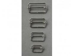 Coulissant métal argenté