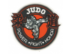 Ecusson thermocollant Judo