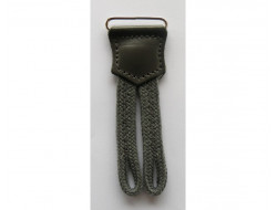 Pattes de boutonnage pour bretelles grise