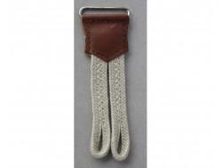 Patte de boutonnage pour bretelles beige